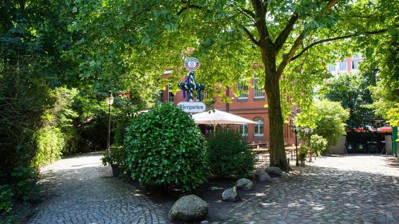Biergarten Hamburg Factory Hasselbrook