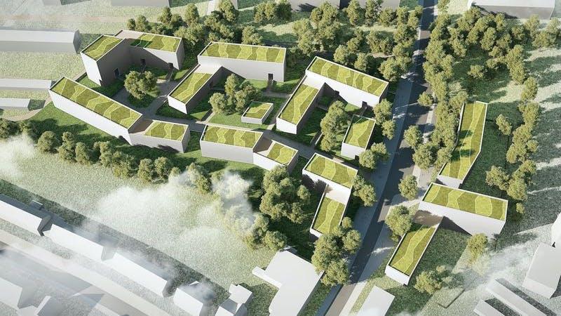Wohngebiet Spannskamp Eimsbüttel Stellingen