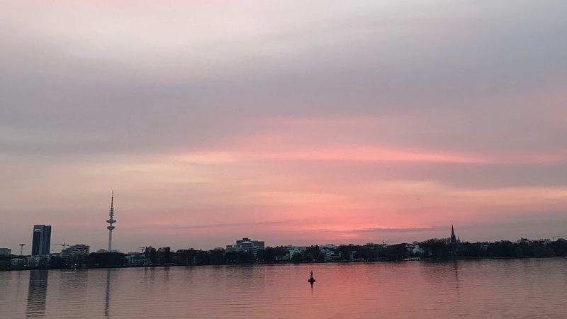 Alster Abendsonne