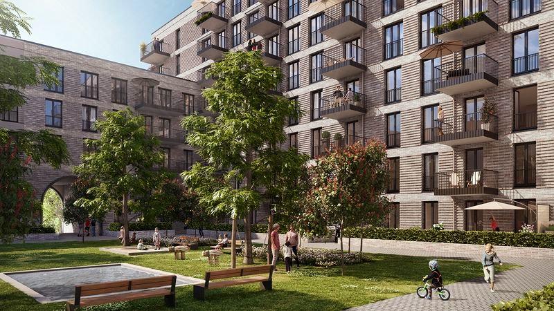 Neubauprojekt Hamburg BLOOM Pergolenviertel