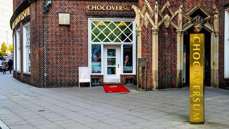 Das Chocoversum in Hamburg von außen