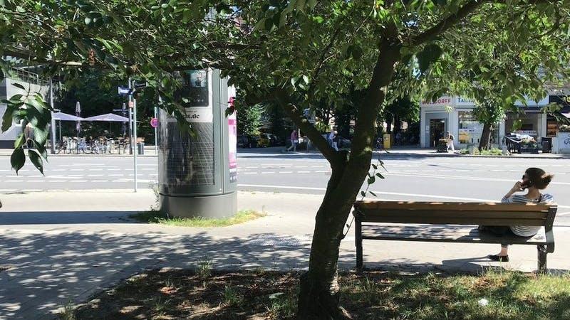Eppendorfer Baum, Parkbank