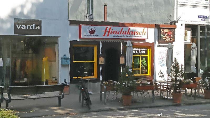 Das Restaurant Hindukusch im Grindelviertel