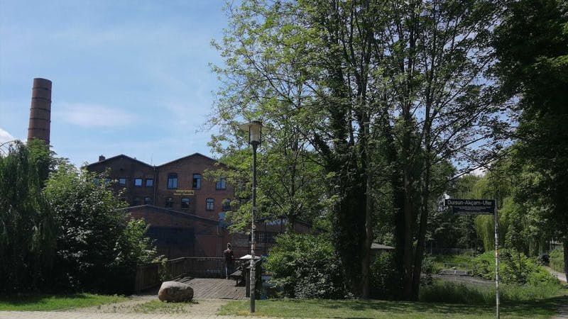 Wilhelmsburg, Veringkanal, Honigfabrik, Reiherstieg