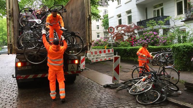 Stadtreinnigung Hamburg Fahrrad