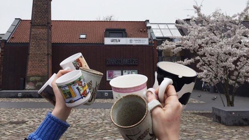 Das LüttLiv freut sich auf eure alten Kaffeebecher