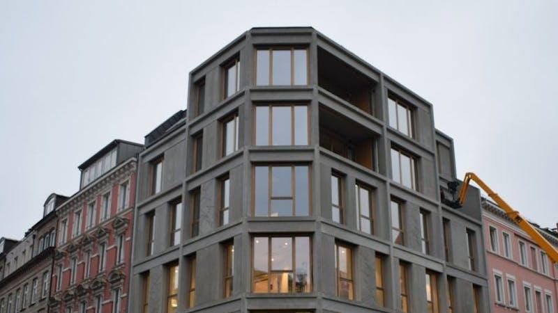 Über der Haspa-Filiale am Schulterblatt befinden sich vier moderne Wohnungen