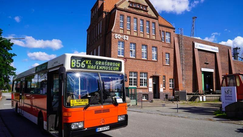 Sonderbuslinie zum Hafenmuseum