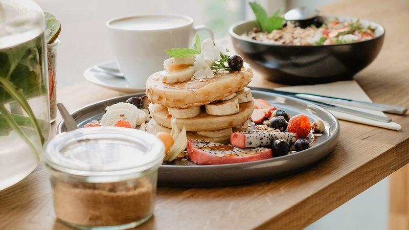 Vegane Pancakes im Soul in Eppendorf