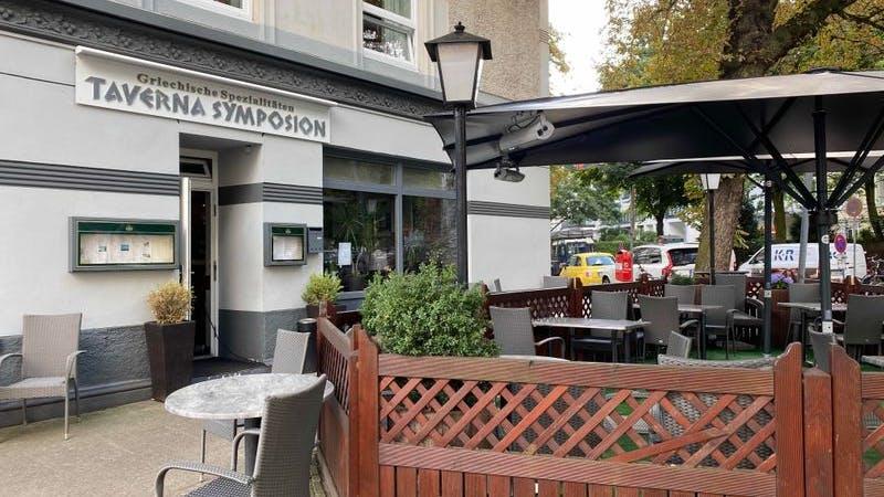 Taverna Symposium, Grieche, Erikastraße