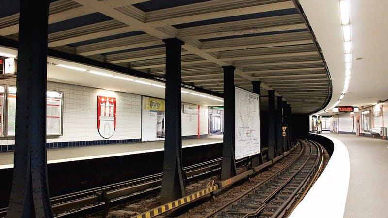 Station Rathaus, U3, HVV