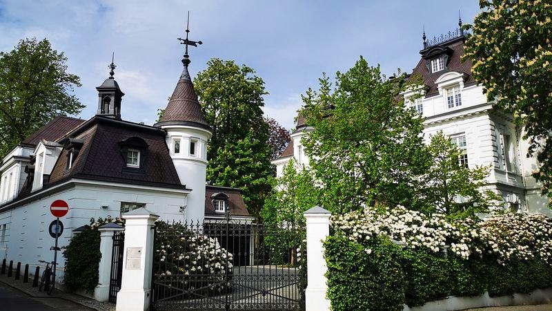 Villa Beit in Hamburg