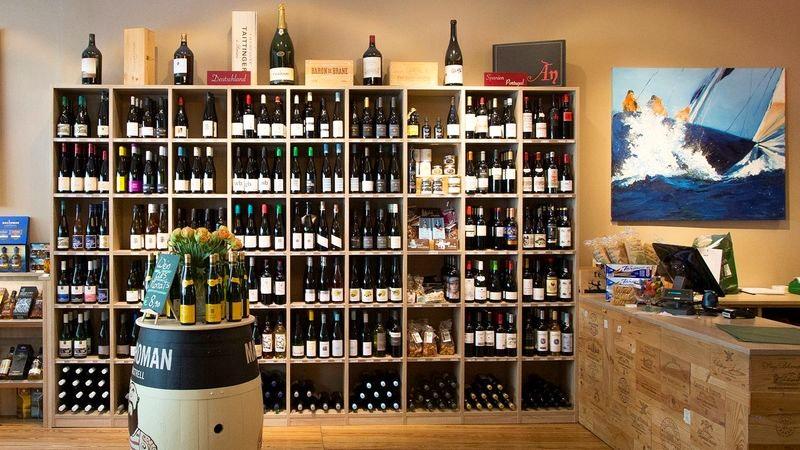 Das Weinhaus Gröhl von innen