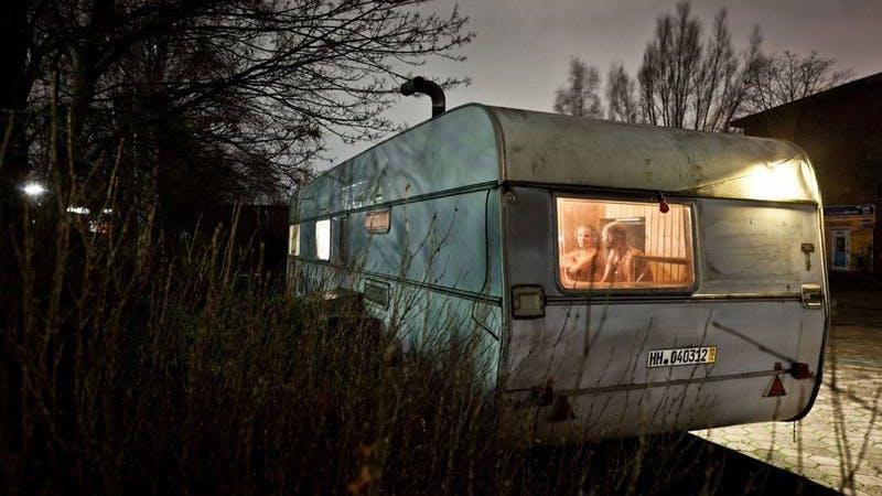 Zunderbüchse mobile Sauna Wilhelmsburg