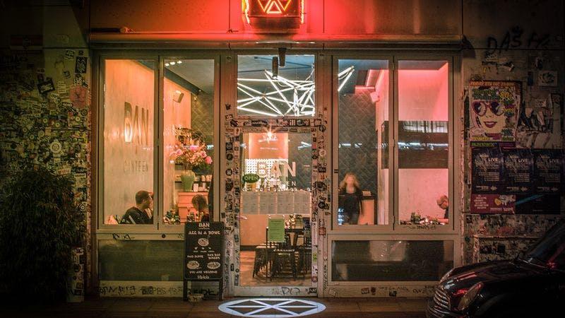 Restaurants St. Pauli Ban Canteen