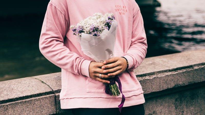 Liebe, Valentinstag, Blumen, Romantik, Symbolbild