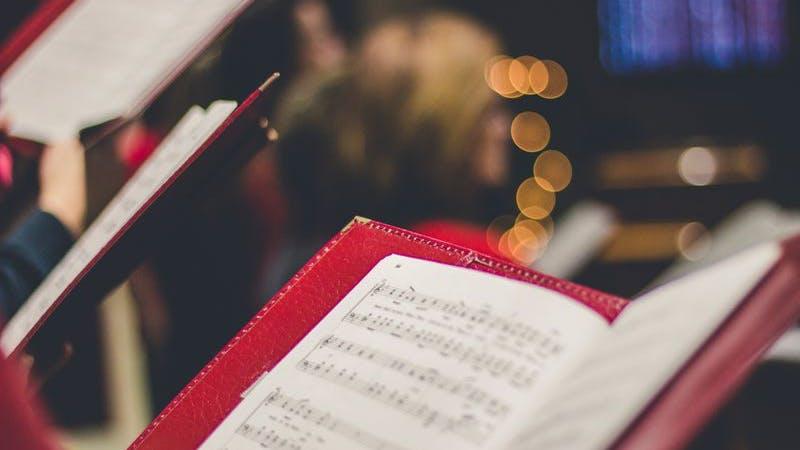 Singen, Noten