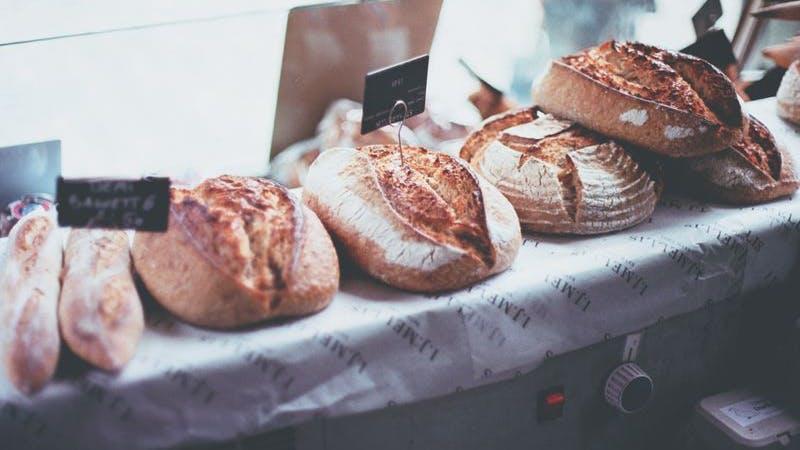 Brot, Brötchen, Bäckerei, Symbolbild