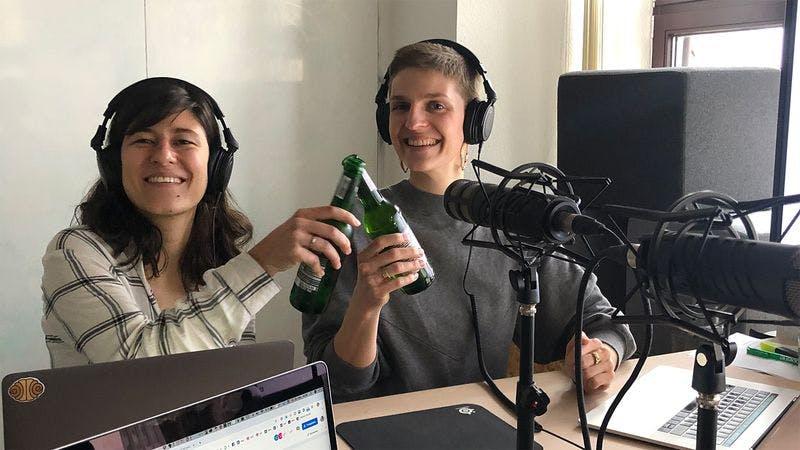 Lilli und Lolle beim Hamburg Podcast