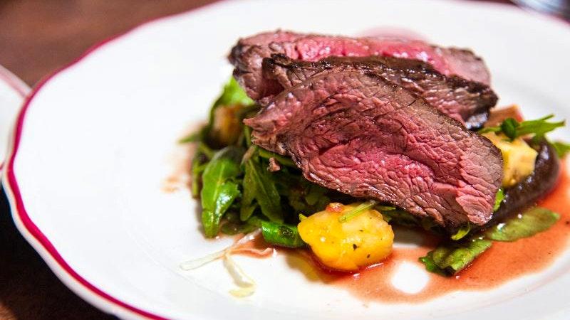 Steak, medium gebraten