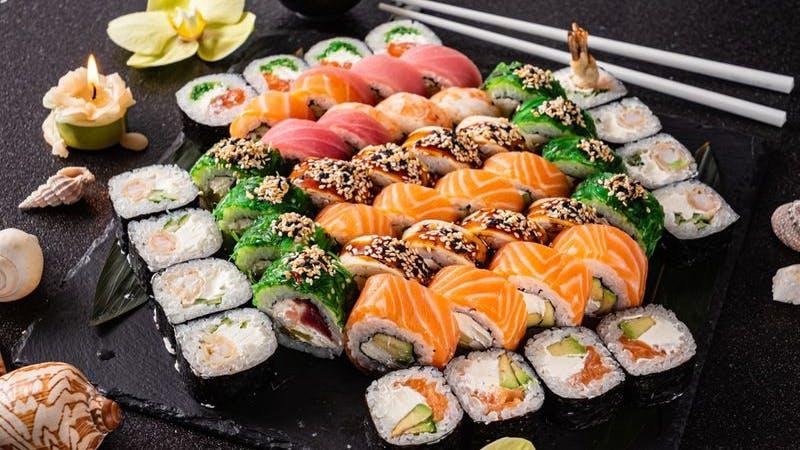 Sushi, Hamburg, Maki, Nigiri