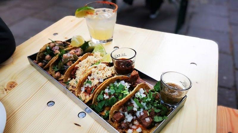 Mexiko Strasse Eppendorfer Weg Tacos