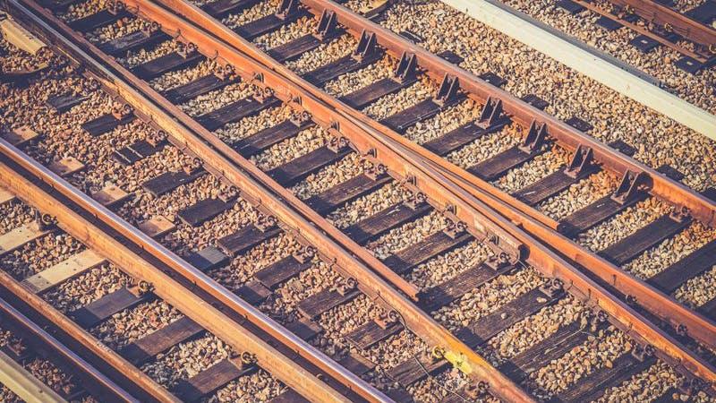 Gleise, Schienen, Bahngleise, Bahn, S-Bahn