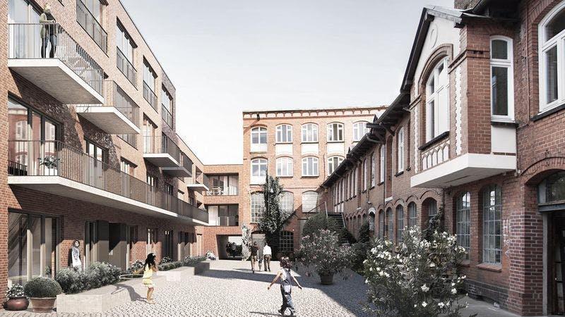 Neubau-Wohnungen an der Großen Freiheit in Hamburg