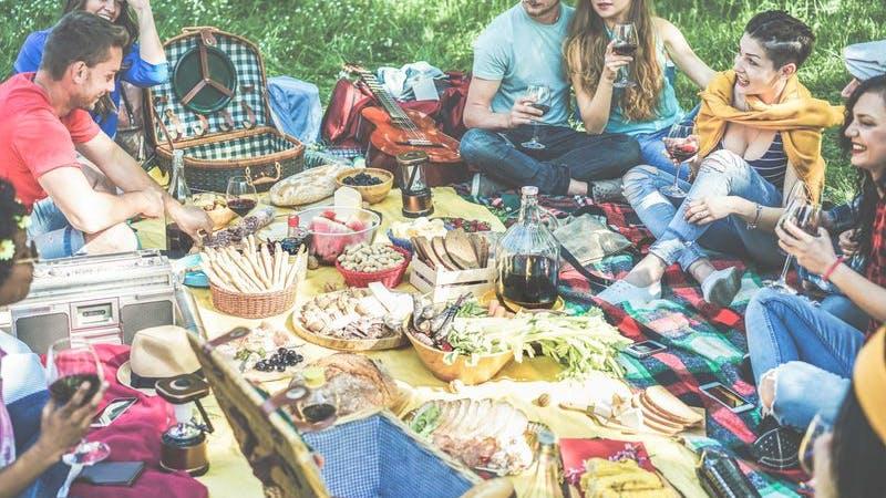 Picknick in Hamburg