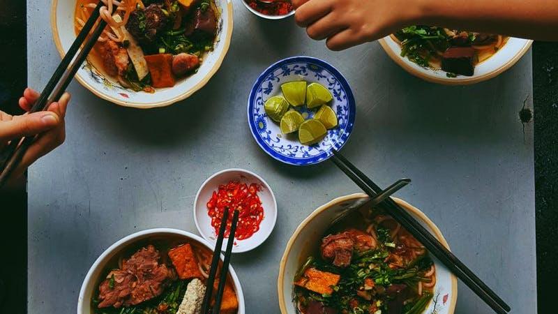Asia, Asiatisches Essen, Symbolbild
