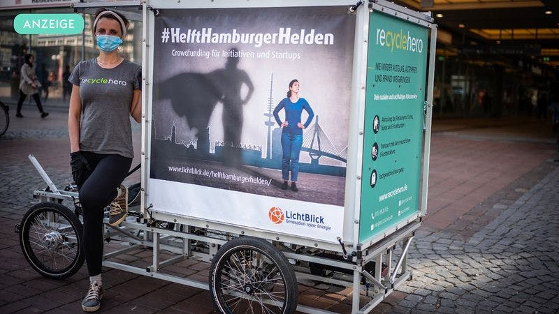 Banner Crowdfunding Hamburger Helden