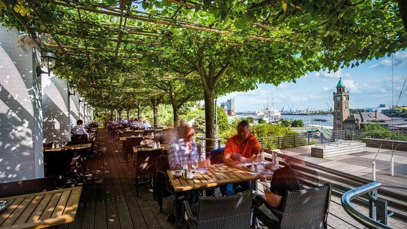 Restaurant Port Hotel Hafen Hamburg