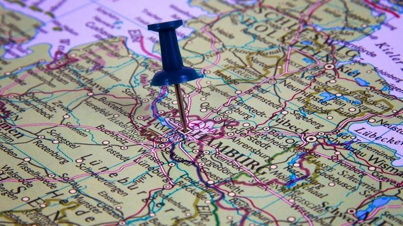 Karte, Hamburg, Stellingen