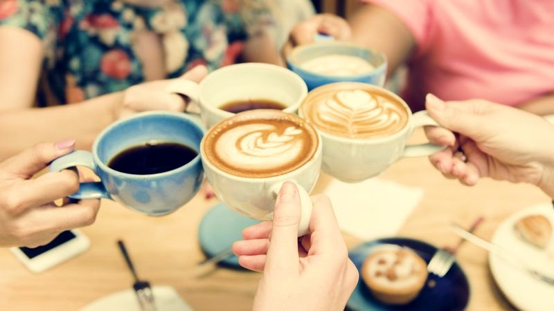 Kaffee, Kuchen, Café, Alstertal