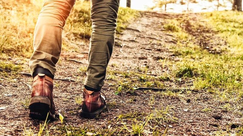 Füße wandern