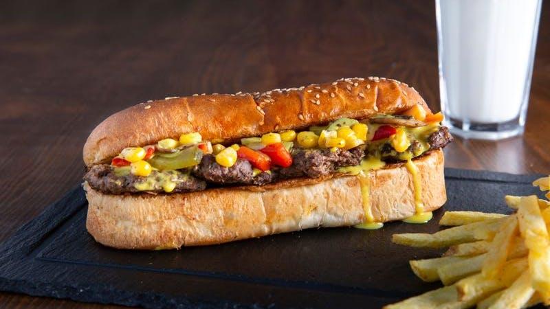 Köfte-Sandwich