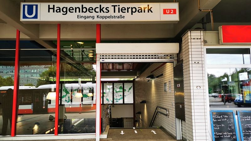 U-Bahn-Station Hagenbecks Tierpark