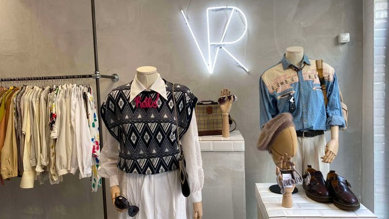 Second-Hand shoppen bei Vintage Revivals