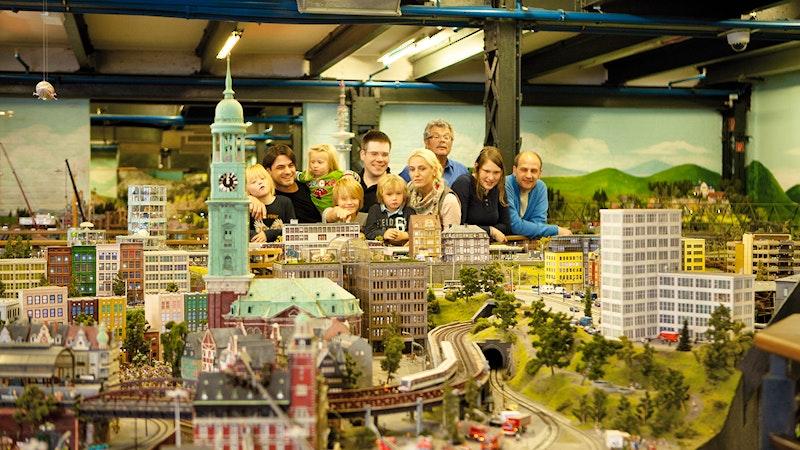 Indoor-Aktivitäten Hamburg Miniatur Wunderland Michel