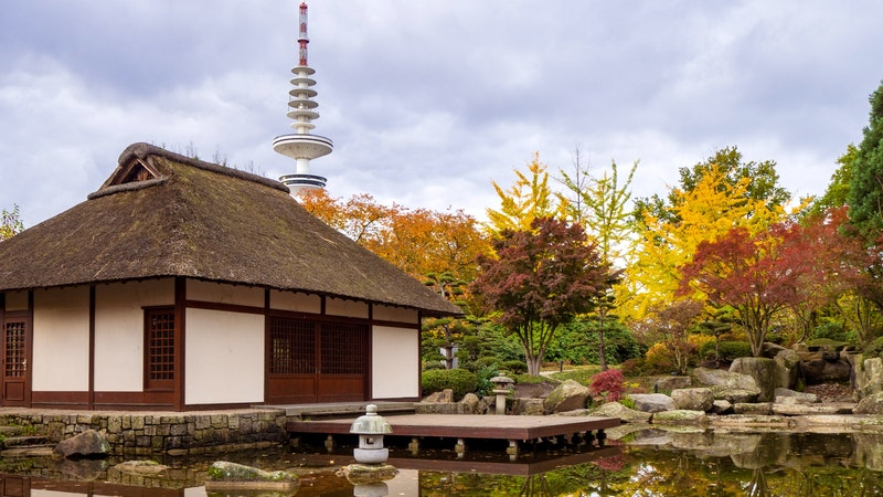 Japanischer Garten Hamburg, Planten un Blomen, Telemichel