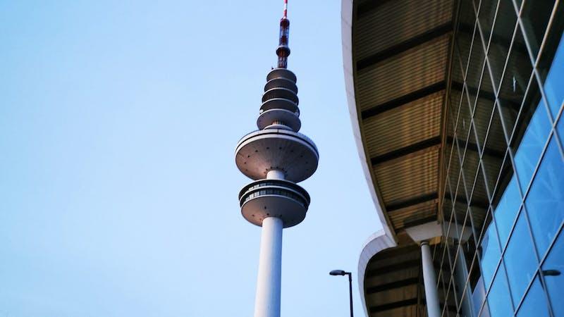 Fernsehturm und Messehallen Hamburg