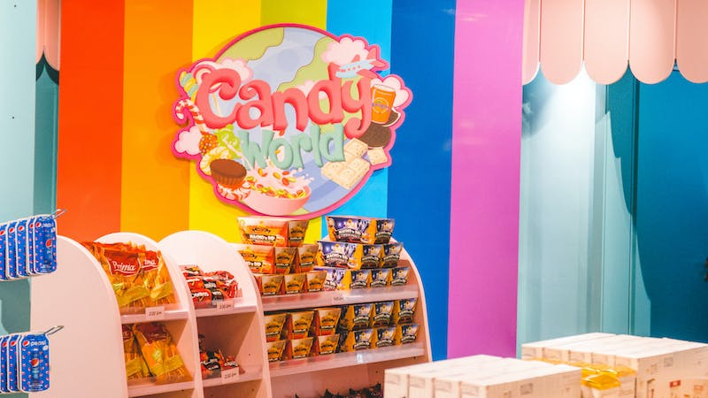 Candy World Hamburg in der Mönckebergstraße