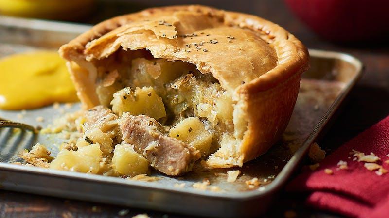 Pie mit Pork und Apfel von Cheeky Pies