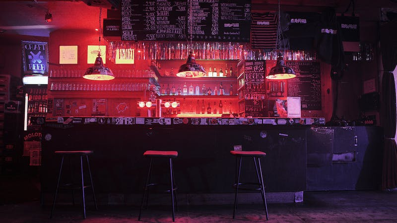 Molotow Musikclub Tresen