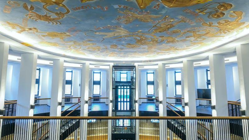 Foyer vom Planetarium Hamburg