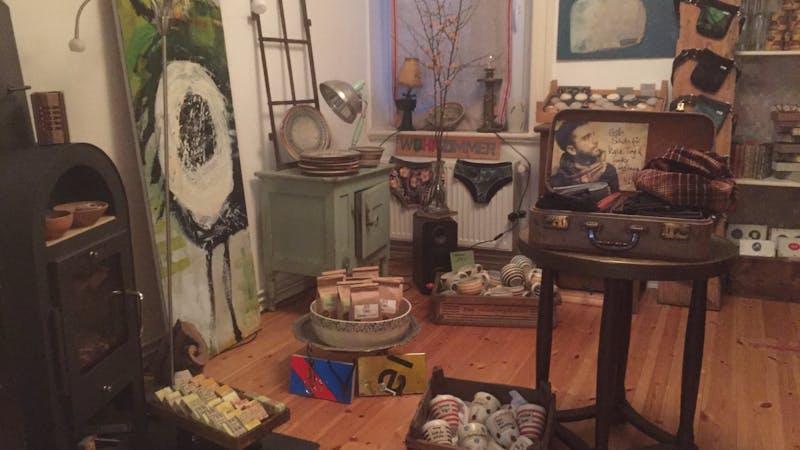 Popup Wohnzimmer Laden in Ottensen