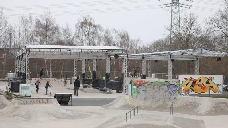 Allerfornia Skatepark überdacht