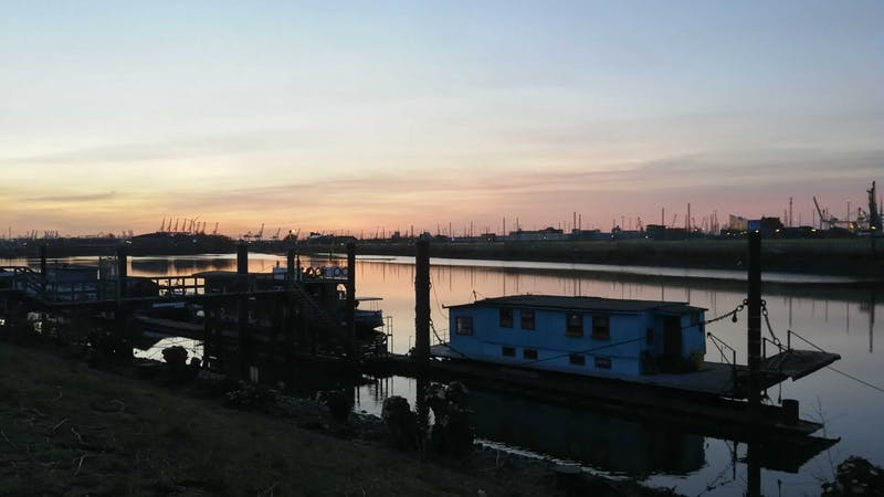 Hausboot Hamburg Veddel