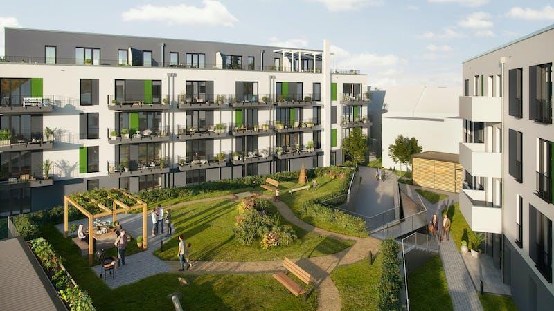 Visualisierung Neubau-Projekt Bergedorf