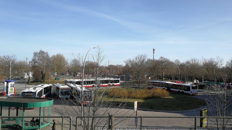 Busbahnhof Veddel